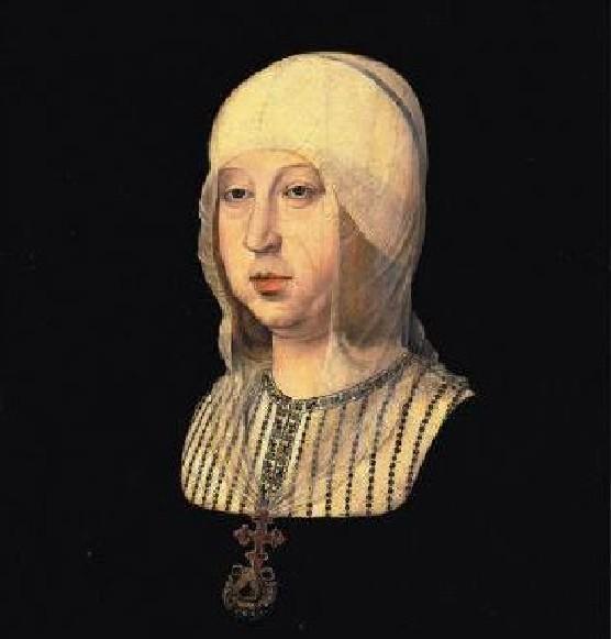 Isabel la Catolica -  Atribuido a Juan de Flandes