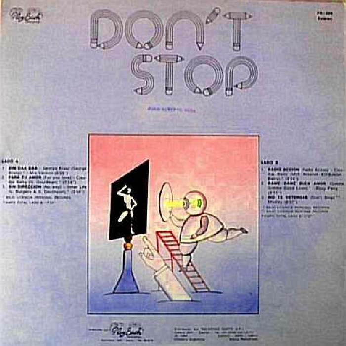 "Missing Album: ""Don't Stop"" (Play Back Records, License Gapul SA)"