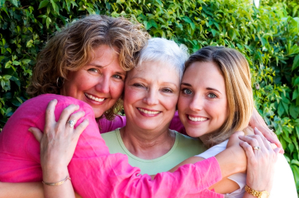 Between mothers and daughters