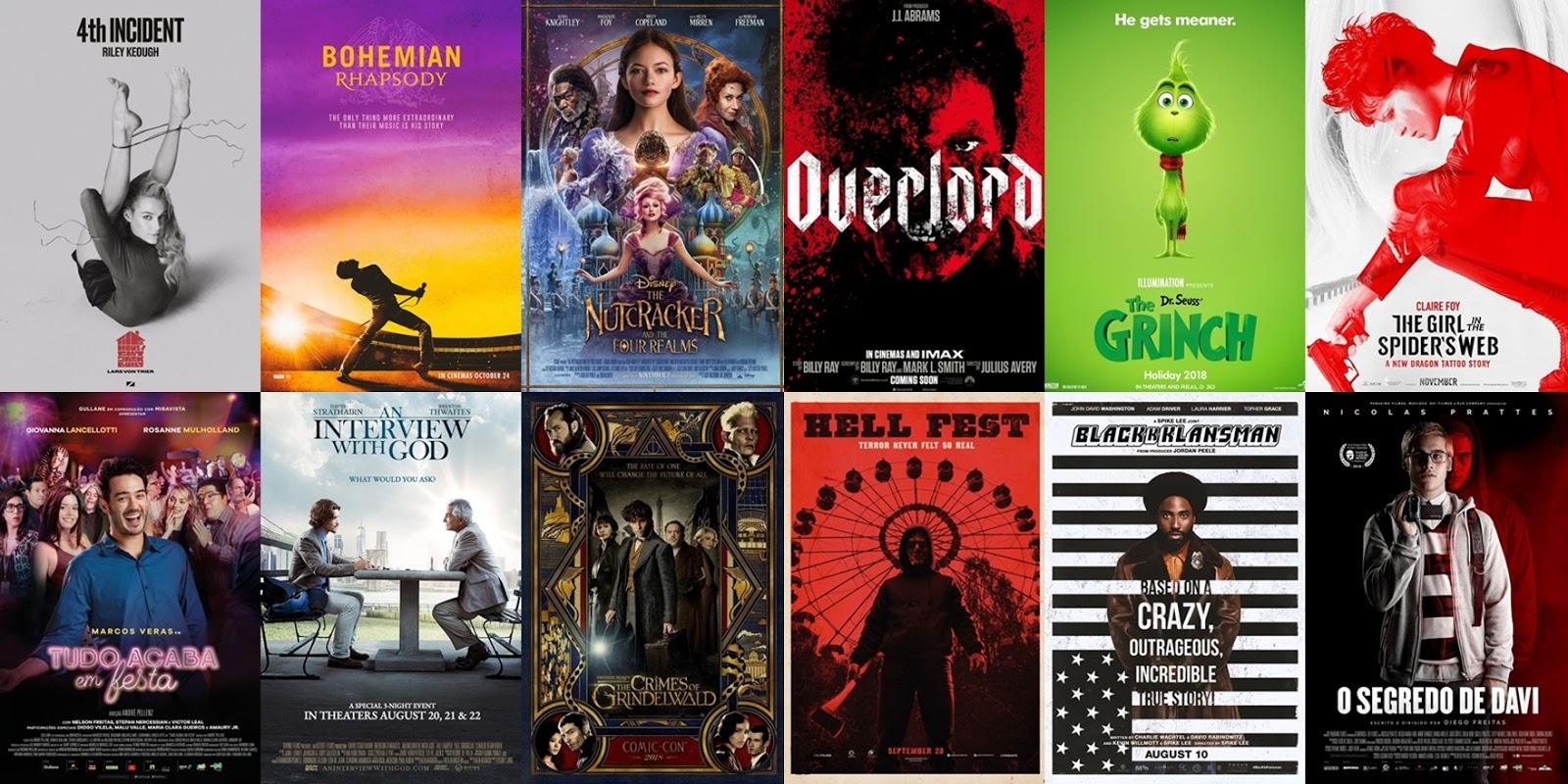 Calendário: Todas as estreias do mês de Novembro