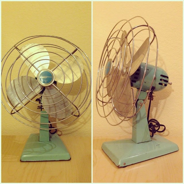 #thriftscorethursday Week 50 | Instagram user: sharbearrrhauls shows off this Vintage Fan