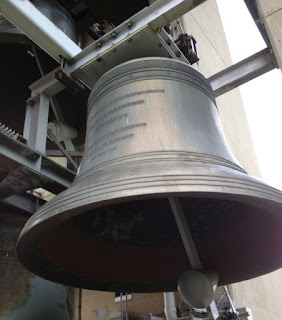 One of the bells in the Thomas Rees Memorial Carillon, Springfield, IL
