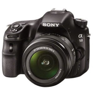 eBay: Buy Sony SLT-A58K 20.4 Megapixels Digital SLR Camera with SAL18-55 Lens at Rs.31694