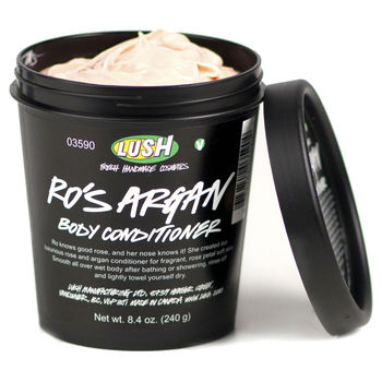 Lush, Lush's Valentine's Rockabilly Bash, Silky Underwear Dusting Powder,Tender Is The Night, Ro's Argan Body Conditioner , You Snap The Whip body butter