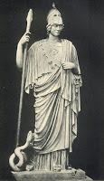 Greek Goddess Athena.