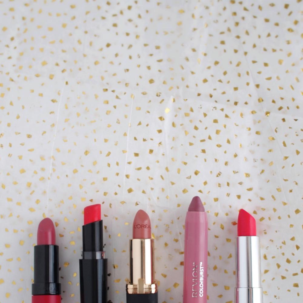 Drugstore Lipsticks