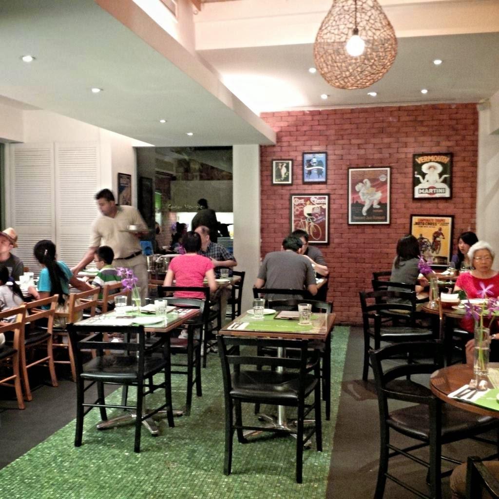 Thearcticstar 39 s tales dinner at casa verde botanical for Au jardin les amis restaurant singapore