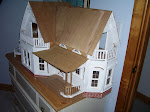 Nancy's White Dollhouse
