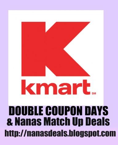 Kmart match up deals