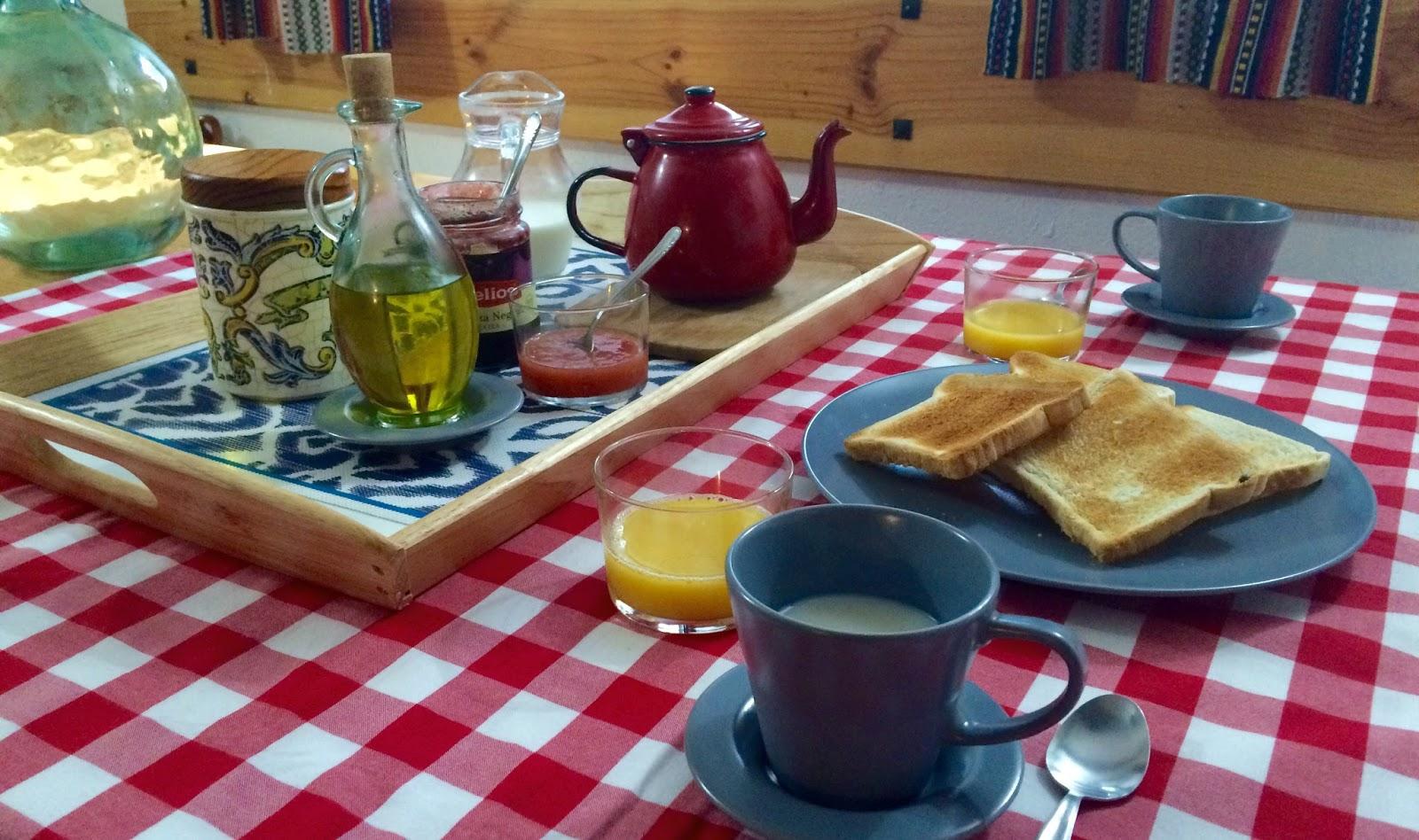 Desayunos breakfast la casa del p ramo - Desayunos en casa ...
