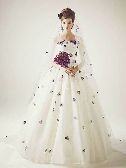 Wedding dresses collection from Keita Maruyama for rent