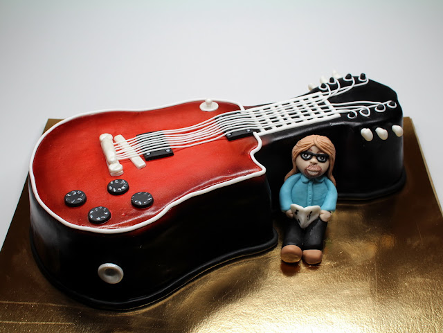 Guitar Birthday Cake London