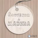 SOUVENIR DE MADERA