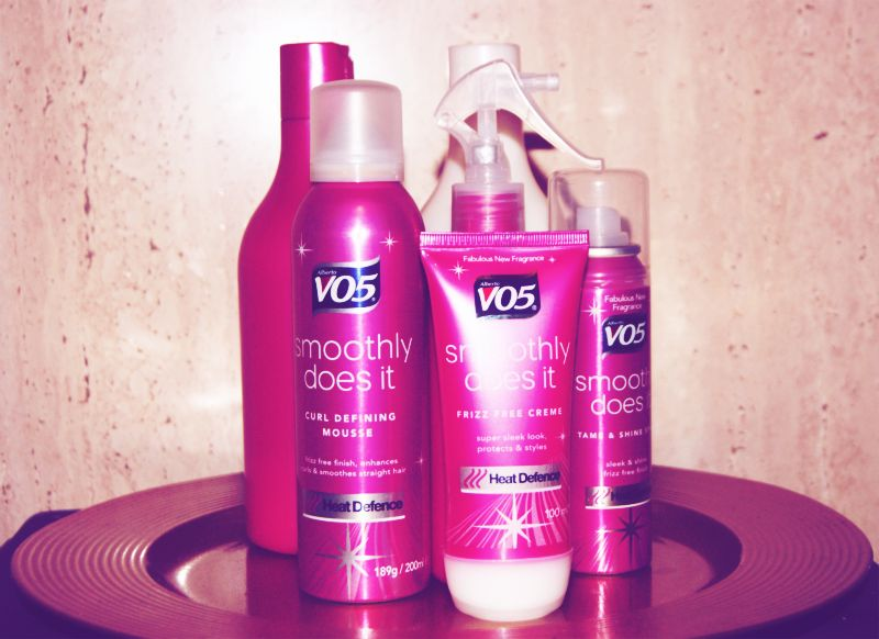 Vo5 Smoothly Does It Range Review The Sunday Girl
