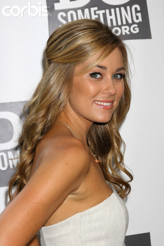 Lauren Conrad Updo Back View. half updo hairstyles for long