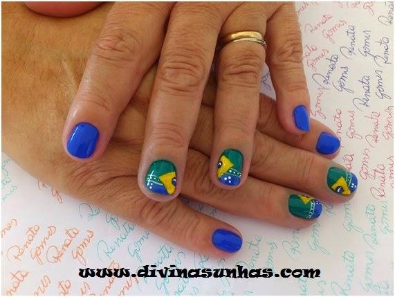 Carina Oliveira » Unhas decoradas – Florais