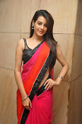 Deeksha panth sizzling saree stills-thumbnail-7
