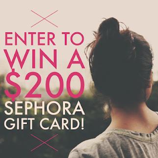 $200 Sephora Giveaway