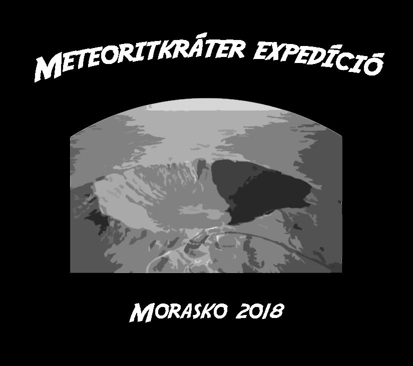 Meteoritkráter Expedíció 2018