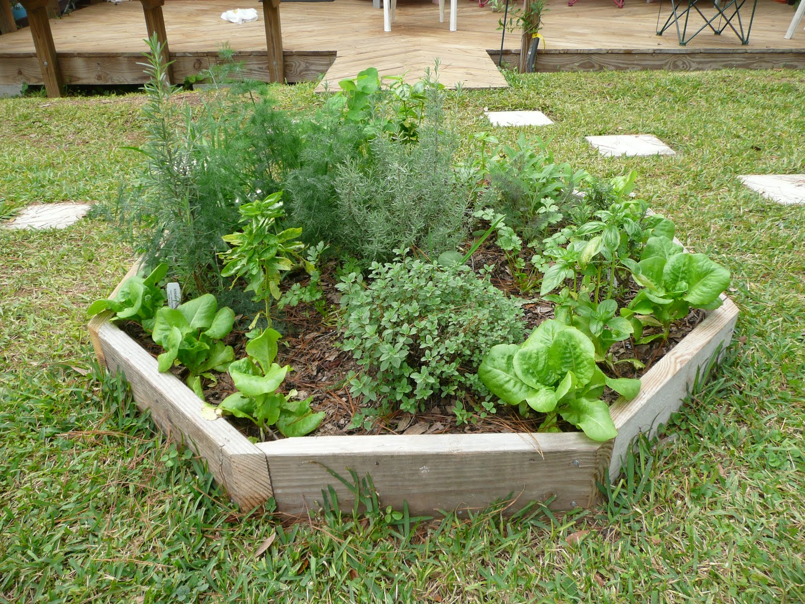 Man in overalls food garden services for Food garden ideas