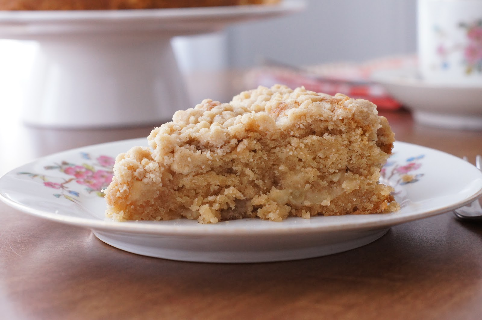 ... Goddess: Mulling Spiced Apple Coffee Cake with Spiced Streusel