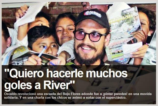 Osvaldo ya firmo y es jugador de Boca!