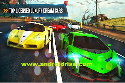 47 high-performance cars Racing Game Asphalt 8: Airborne Android,