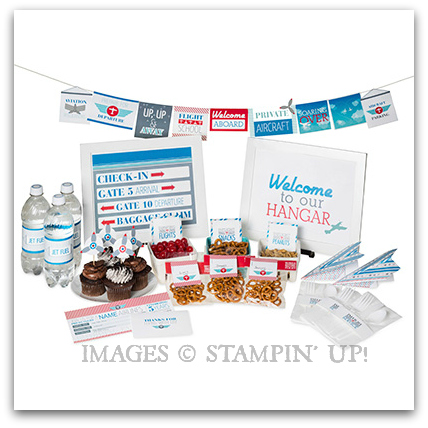 Stampin' Up! Ready For Departure Digital Ensemble Kit