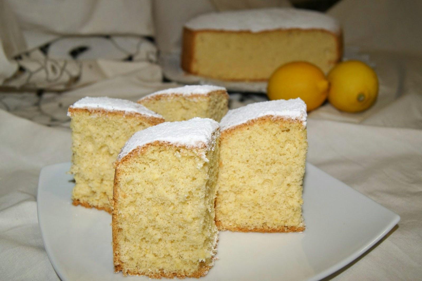 Anna recetas f ciles bizcocho cl sico muy esponjoso - Bizcocho de limon esponjoso ...