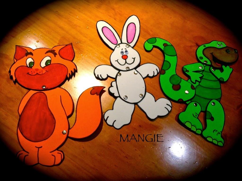 Marionetas articuladas foamy