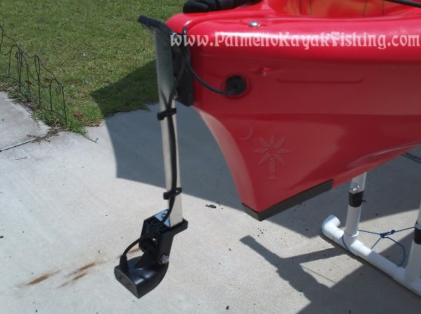 palmetto kayak fishing: diy kayak transducer arm for the 2012, Fish Finder
