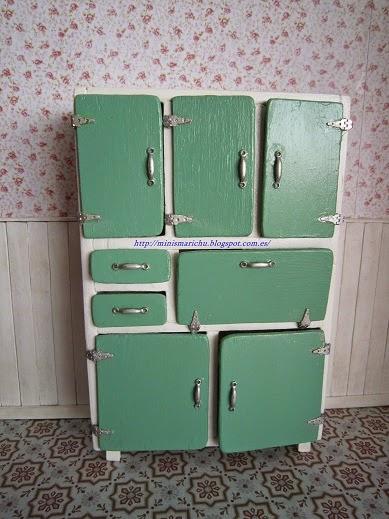 Las minis de marichu como hacer el mueble a os 60 - Muebles anos 60 ...