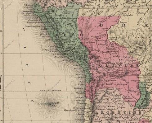 Chile Bolivia Mar Chile y Bolivia Firmaron