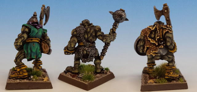 Giant Black Orcs, Citadel (sculpted by Bob Olley, 1989) rear