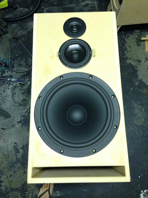 Finished DIY speaker
