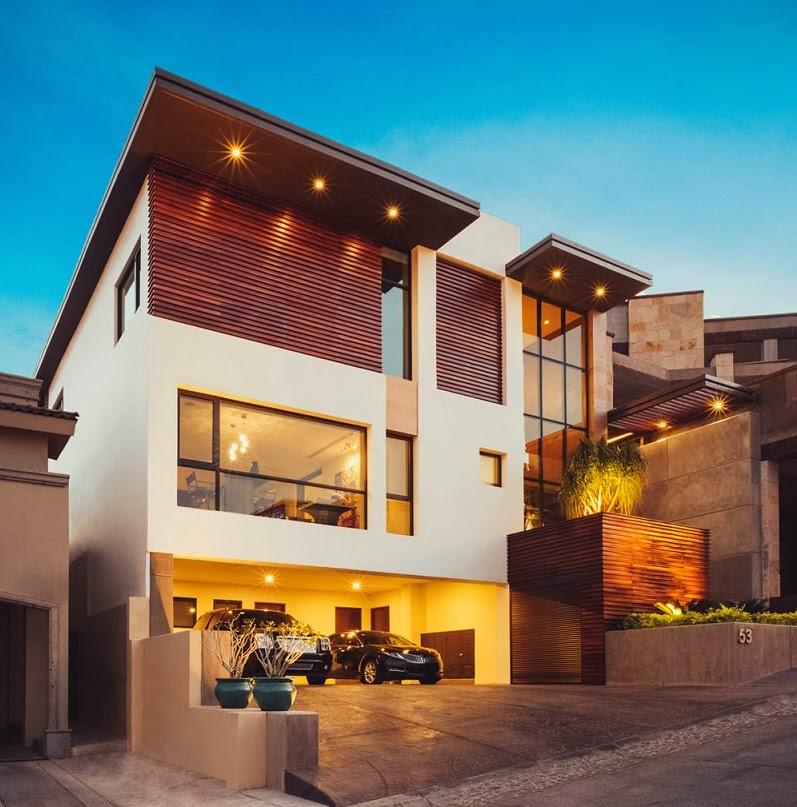 Casa r35 contempor nea y funcional imativa arquitectos for Casas modernas con interiores contemporaneos