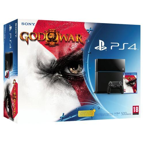 Playstation 4 500gb Dualshock 4 Jogo God Of War 3