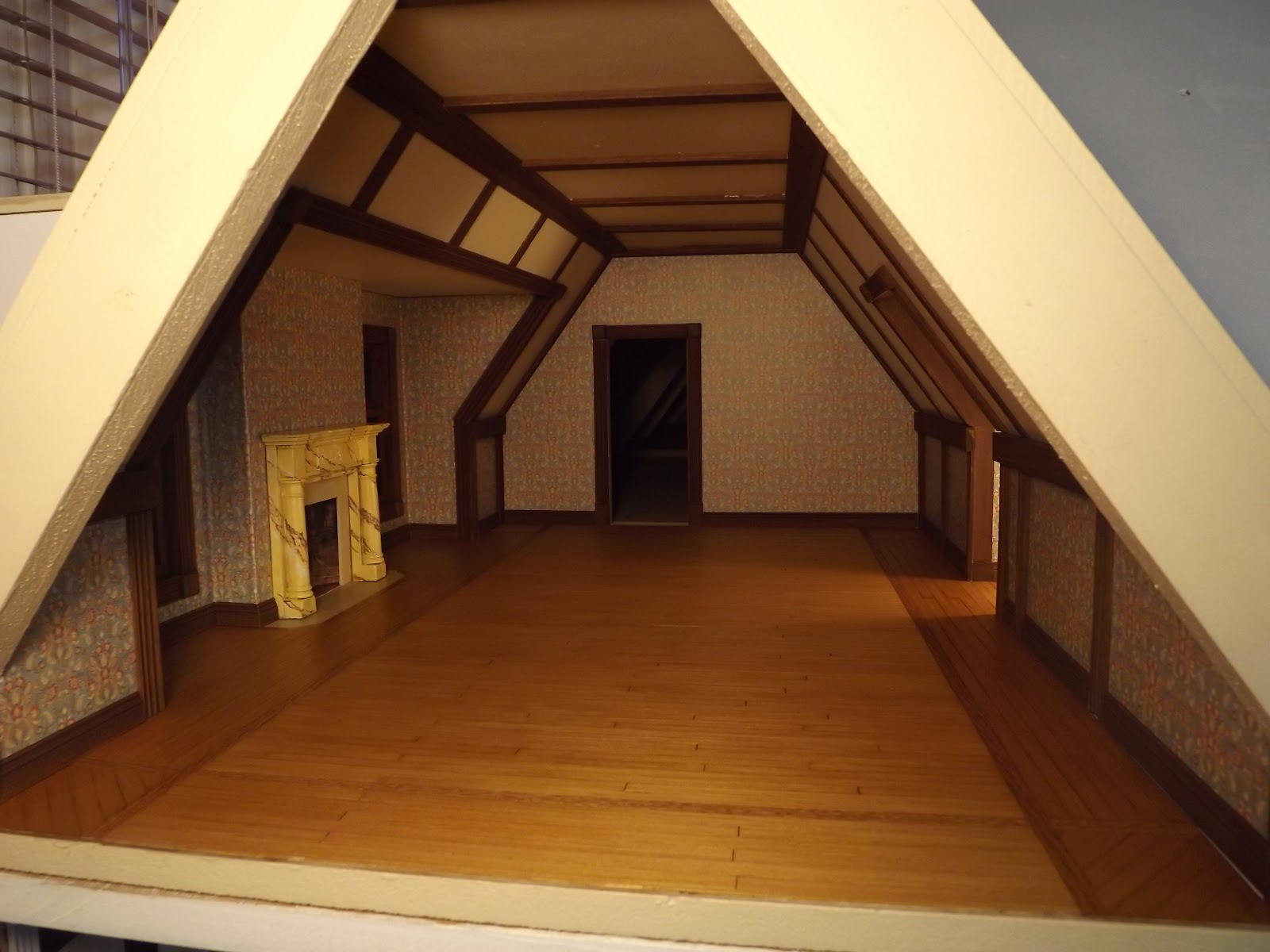 attic bedroom ideas tumblr - Late Victorian English Manor Dollhouse 1 12 Miniature