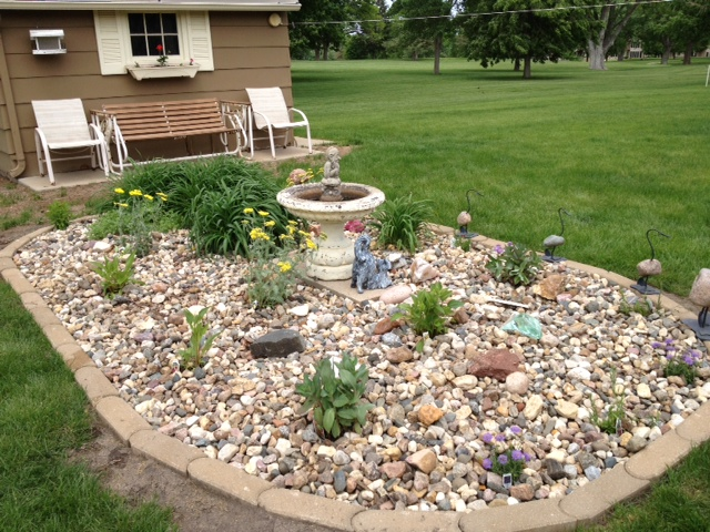 Landscaping Rock Yankton Sd : Matt of all trades gorgeous skies and fun quirks in yankton south dakota