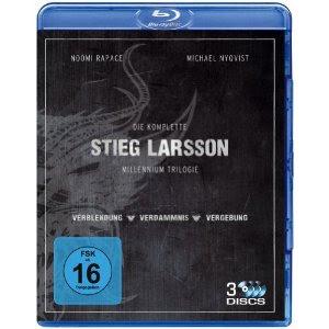 Stieg Larssons Millennium Trilogie [Blu-ray] bei Amazon für 15,97 Euro inklusive Versandkosten
