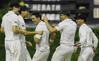 New Zealand win second test against Sri Lanka
