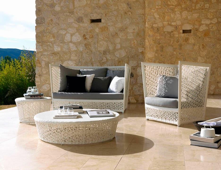 Espectaculares dise os de muebles para terrazas jard n y - Muebles de jardin y terraza ...