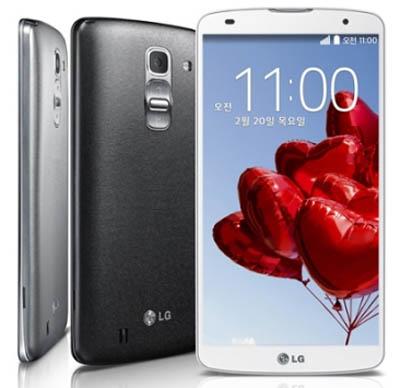 LG G Pro 2 Usung Layar 5.9 Inchi, Android KitKat, RAM 3GB (Resmi)