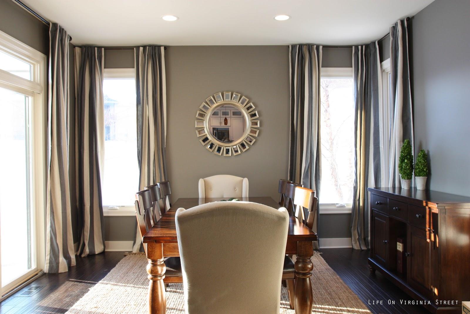 dining room semi reveal life on virginia street. Black Bedroom Furniture Sets. Home Design Ideas