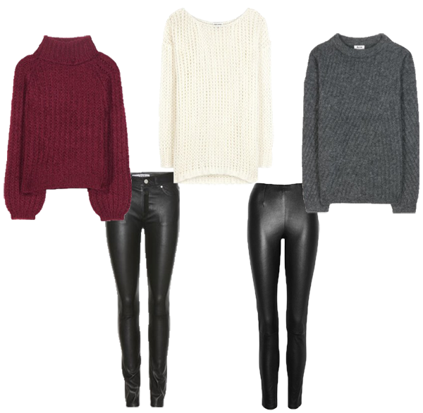 LamourDeJuliette_Deutscher_Modeblog_Fashion_Blog_Leather_Pants_Chunky_Knits