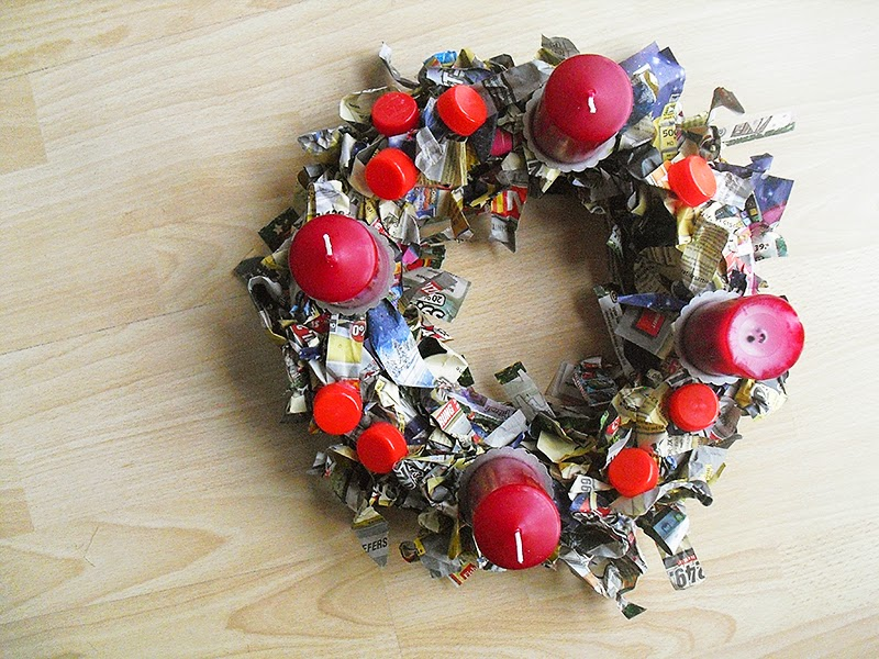 frauschoenert's DIY advent wreath