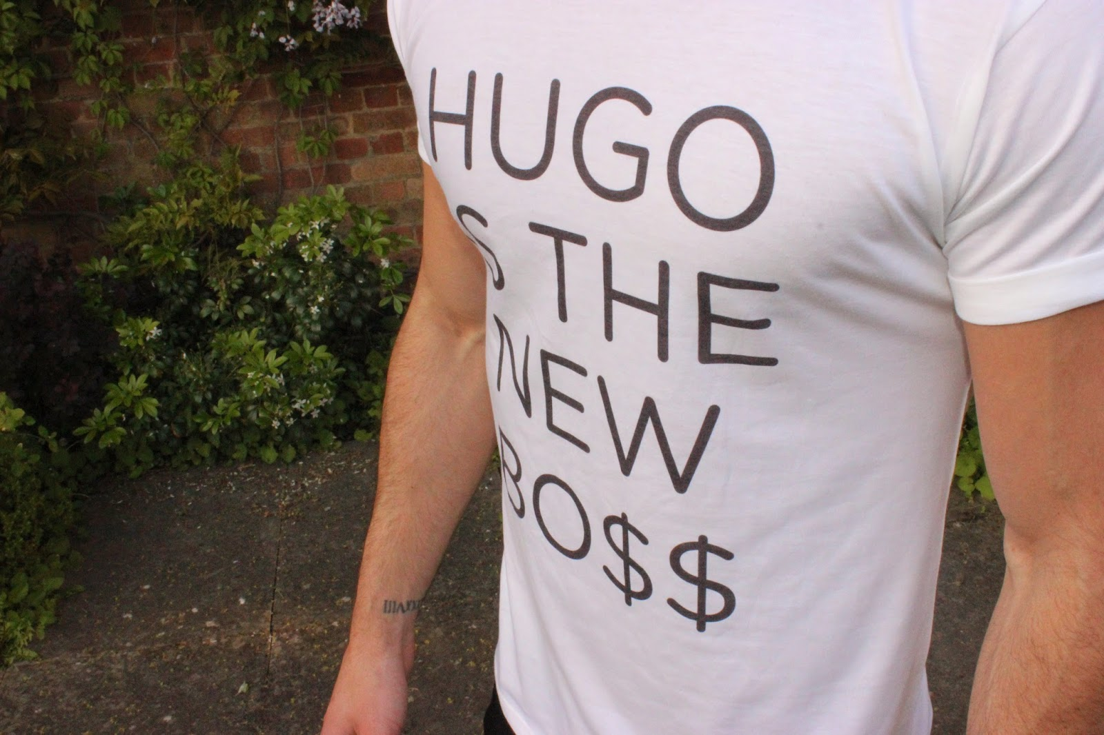 Hugo Is The New Boss Tshirt