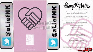 JKT48 Heavy Rotation Type-A | Hand-Shake Ticket [image by @aLiefNK]
