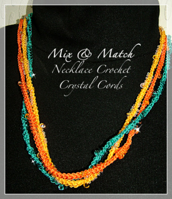 Swarovski Crochet Necklaces - Mix n Match