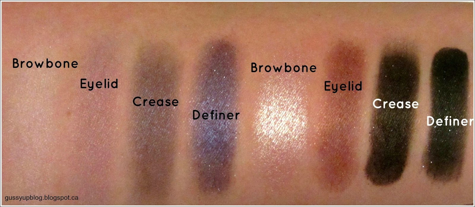 Review, Swatches and Looks: Wet N' Wild 8-Pan Eyeshadow Palette, Petal Pusher